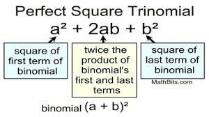 factoring perfect square trinomials mathbitsnotebook a1 ccss math