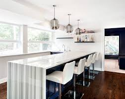 bar pendant lighting creates stylish comfort in this westchester home