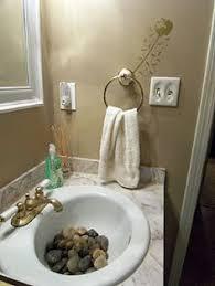 bathroom sink decorating ideas rocks in guest bathroom sink home architecture garden