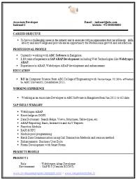 Two Column Resume Computer Science Resume Sample Peace Corps Sample Resume Two
