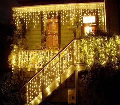 battery operated icicle christmas lights wholesale 10m 0 65m 320 led christmas light led string ls curtain