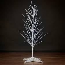durawise 3 pre lit led battery operated snowy white birch twig