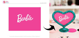 colorful barbie style birthday party free printables hostess