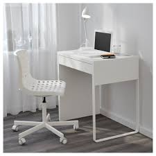 Narrow Computer Desks For Home Micke Desk White Ikea