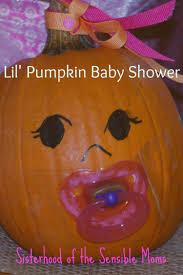 pumpkin all the baby things fall baby shower ideas sisterhood