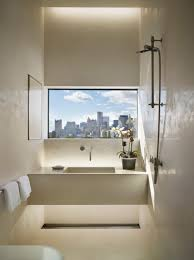 spectacular bathroom design with a view view in gallery bathroom window with a city view