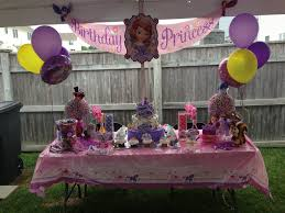 sofia the birthday ideas bathroom candy table ideas savwi decorations baby shower