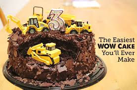 construction birthday cake best diy birthday cake modern parents kids