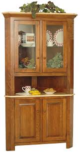Corner Dining Room Cabinets Furniture Dining Room China Cabinet Hutch And Wooden Corner China