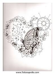 unique butterfly tattoos designs 2