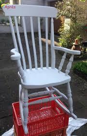 rocking chair chambre bébé retaper un rocking chair pour la chambre de bébé les trucs de stef