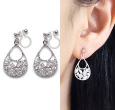 how to make clip on earrings comfortable 372 best clip on earrings images on clip on earrings
