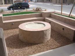 How To Make A Gas Fire Pit by Fire Pits Designed By Az Living Landscape Call 480 390 4477