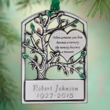 memorial tree ornaments uk personalized memorial