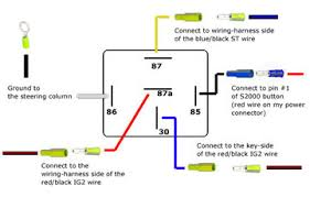 wiring diagram bosch 5 pin relay wiring diagram motorcycle wiring