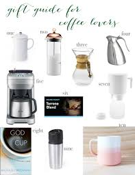 gift guide for coffee lovers pearls on a string