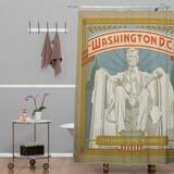 Dc Shower Curtain Anderson Design Group Washington Dc Shower Curtain Deny Designs