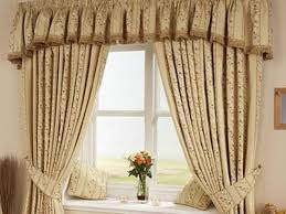 Window Curtain Decor Modern Window Curtain With Flower Design 4 Home Ideas