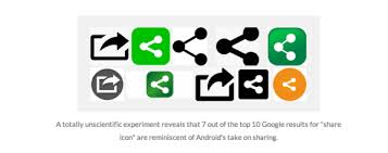 android symbol meanings why isn t there a standard icon