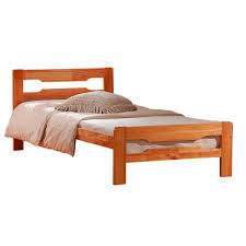 best wooden bed frame design ideas amelia solid wood single bed