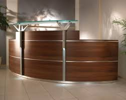ikea reception desk ideas semi circular wooden ikea reception desk for small office design and