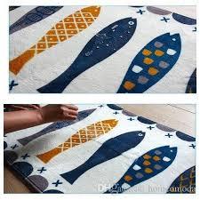 Fish Runner Rug Wholesale Fish Bath Mat Washable Kitchen Floor Rug Non Slip Runner