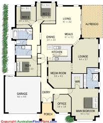 nice looking modern house plans 4 bedrooms 3 design bedroom floor