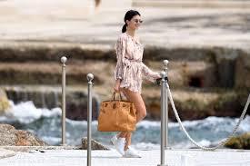 Hotel Du Cap Eden Roc Kendall Jenner Spotted Leaving The Hotel Du Cap Eden Roc 17