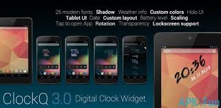 digital clock widget apk clockq apk 3 2 1 clockq apk apk4fun