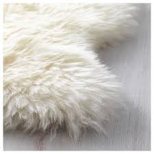 White Fur Cushions Rens Sheepskin Ikea