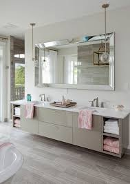 Beveled Mirror Bathroom This Color Is Taking Pinterest And Your Home Bath Bathroom