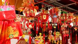 New Years Eve Decorations Dublin by Chinese New Year U0027s Eve In Singapore Shop Selling Red Decorations
