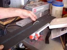 central machinery table saw fence h f 4 mighty mite table saw for cutting kydex youtube