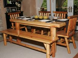 Dining Room Bench Seating Dining Table Dining Room Furniture Untreated Wooden Dining Table