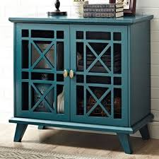 Turquoise Cabinet Accent Chests U0026 Cabinets Birch Lane