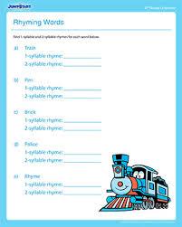 rhyming words u2013 free fun u0026 printable reading lesson plans u2013 jumpstart