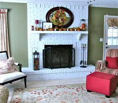 fireplace elegant holiday fireplace screen house furniture
