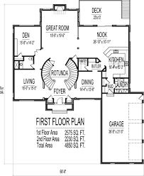 5 Bedroom One Story House Plans Country Style House Plan 4 Beds 3 50 Baths 3000 Sqft 21 323 Sq Ft