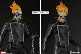 marvel ghost rider sixth scale figure by sideshow collectibl