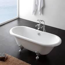 eton 1690x740mm double ended traditional freestanding bath u2013 euro