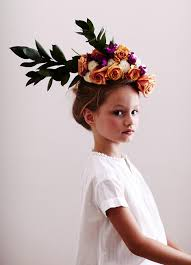 floral headpiece trend alert floral headpiece flowers and fashion