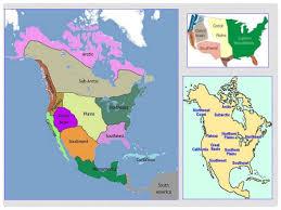 4 american cultures map american cultures