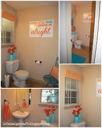 Bathroom Decor Ideas Pinterest Awesome Orange Bathroom Decorating Ideas Ideas Decorating