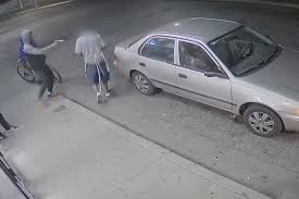 pizza delivery man violently robbed carjacked by thugs