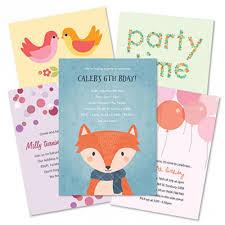 kids birthday invitations children u0027s birthday invites tinyme