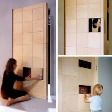 Modern Bedroom Door Designs - unusual interior doors adding surprising accents to modern