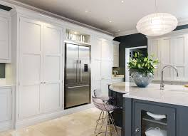 sleek painted kitchen tom howley