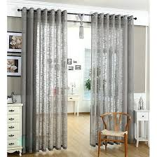 White Patterned Curtains Grey And White Sheer Curtains Improbable Ideas White Sheer