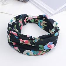 korean headband korean hair accessories cotton wide brimmed headband sports sweet