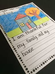 thanksgiving writing prompts sentence stems can help kindergarten